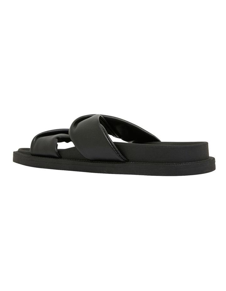 Ginny Black Smooth Sandals image 6
