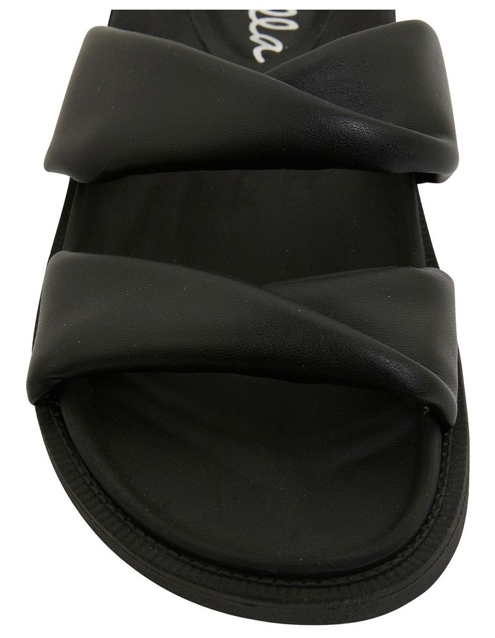 Ginny Black Smooth Sandals image 7