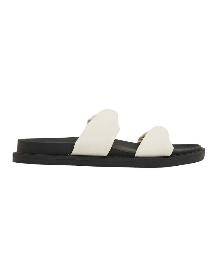 Ginny White Smooth Sandals image 1