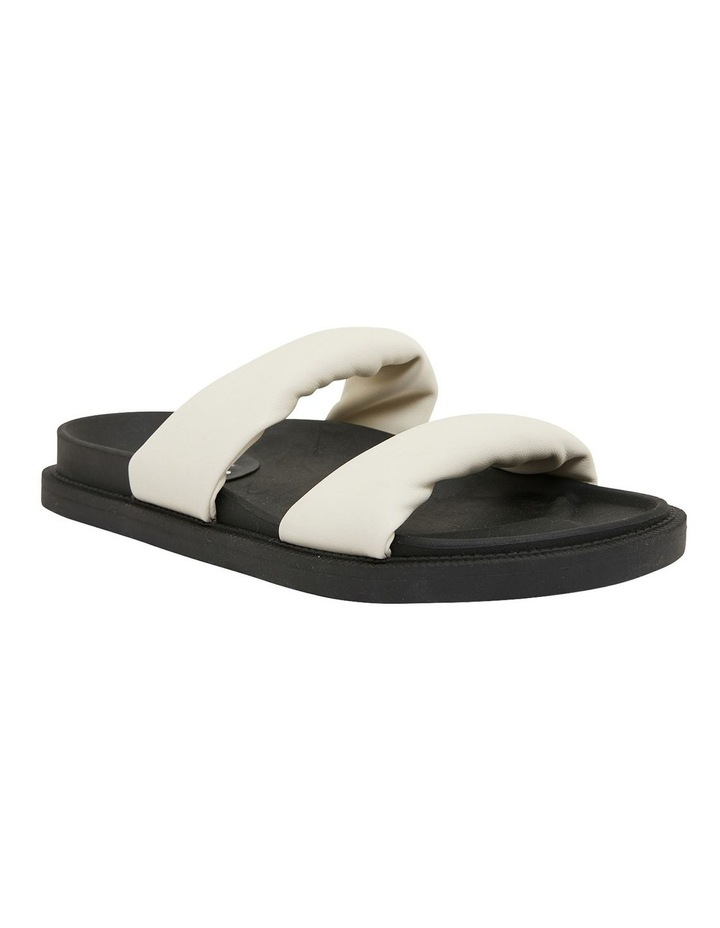 Ginny White Smooth Sandals image 2