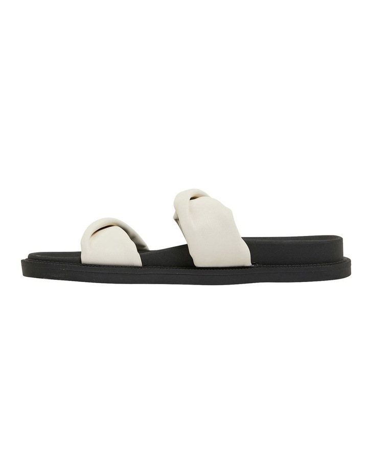 Ginny White Smooth Sandals image 3