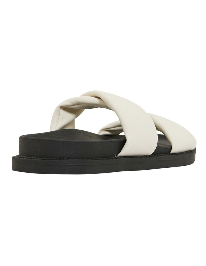 Ginny White Smooth Sandals image 4