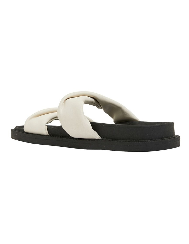 Ginny White Smooth Sandals image 6