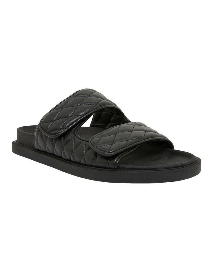 Gretel Black Smooth Sandals image 2