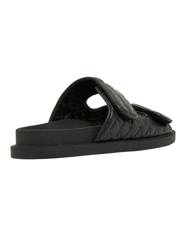 Gretel Black Smooth Sandals image 4