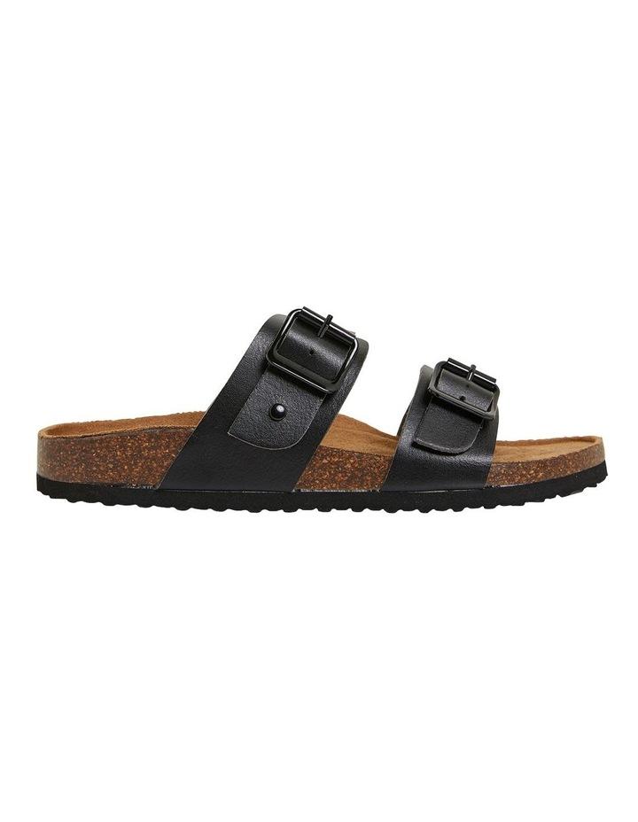 Decoy Black Smooth Sandals image 1