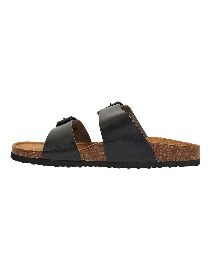 Decoy Black Smooth Sandals image 3