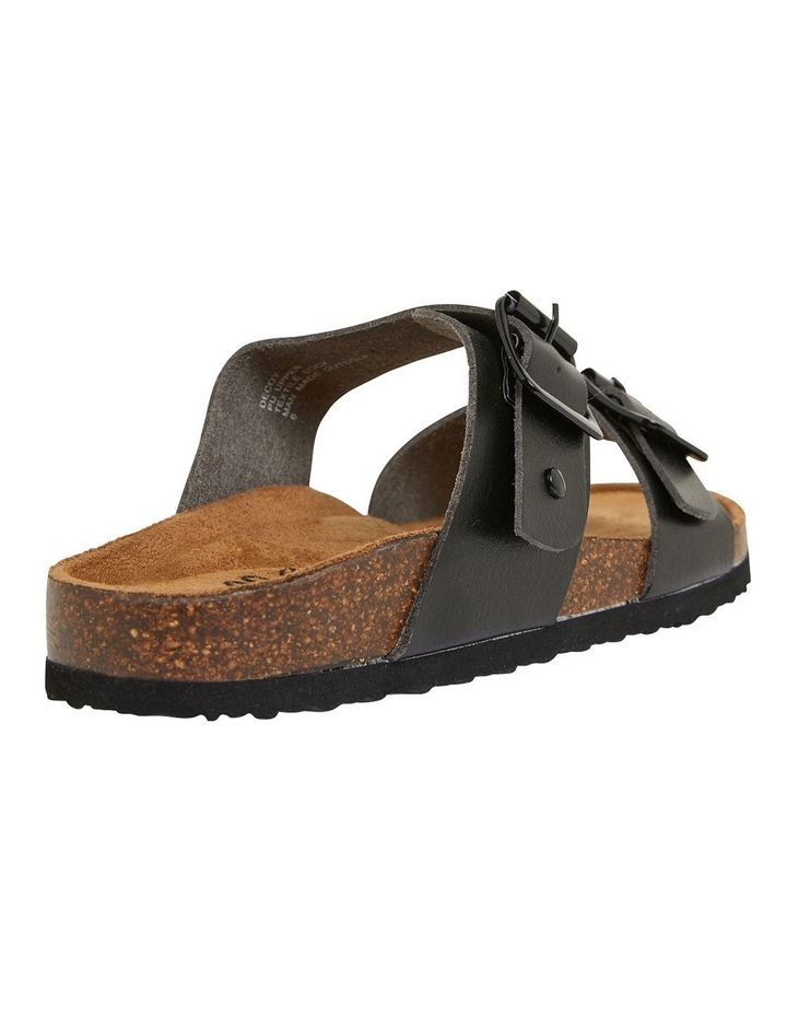 Decoy Black Smooth Sandals image 4