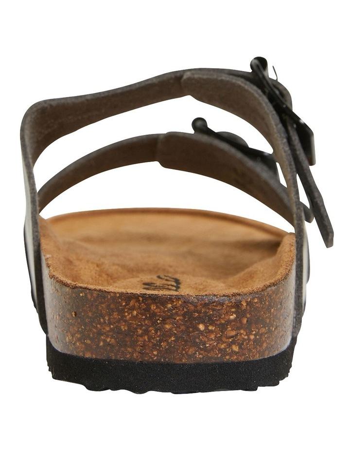 Decoy Black Smooth Sandals image 5