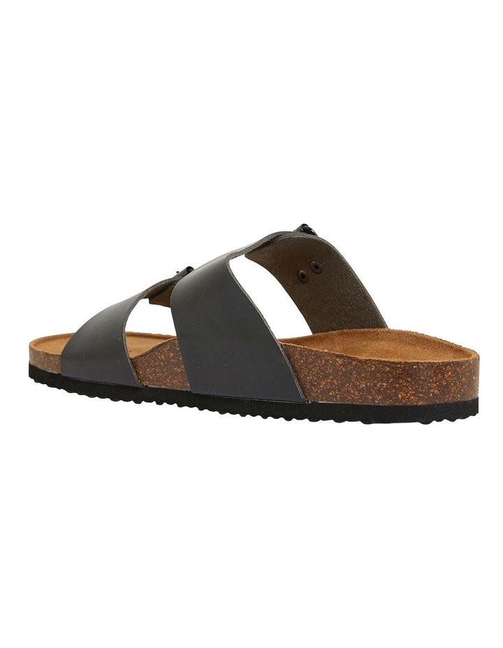 Decoy Black Smooth Sandals image 6