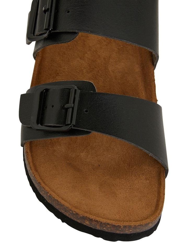 Decoy Black Smooth Sandals image 7