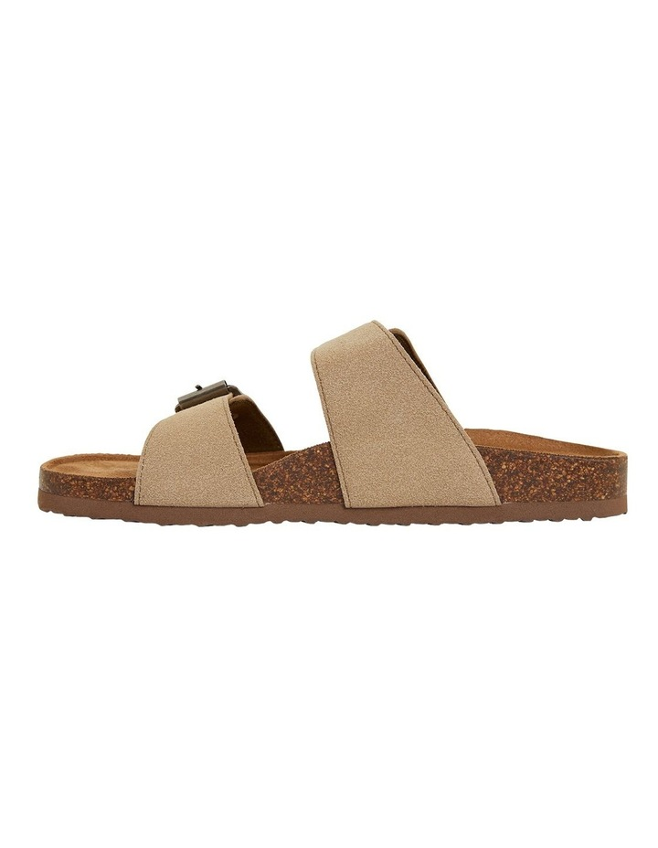 Decoy Taupe Fabric Sandals image 3