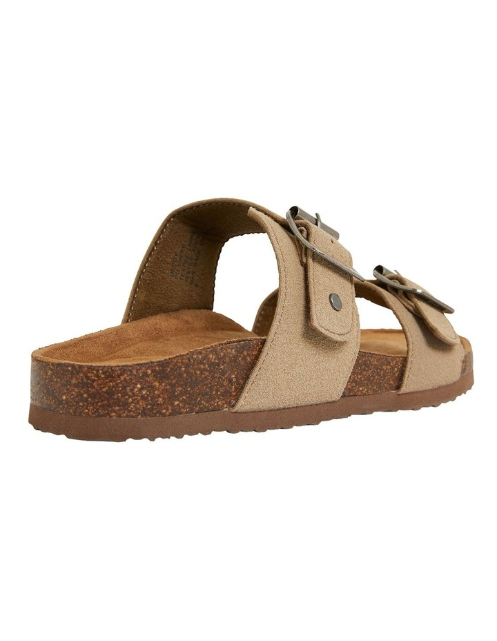 Decoy Taupe Fabric Sandals image 4