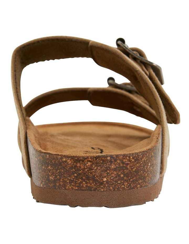 Decoy Taupe Fabric Sandals image 5