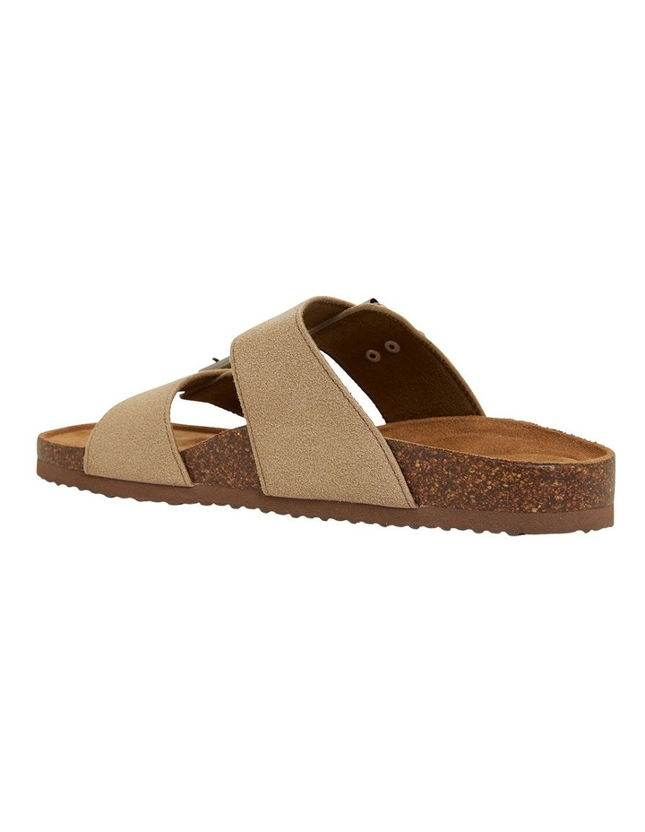 Decoy Taupe Fabric Sandals image 6