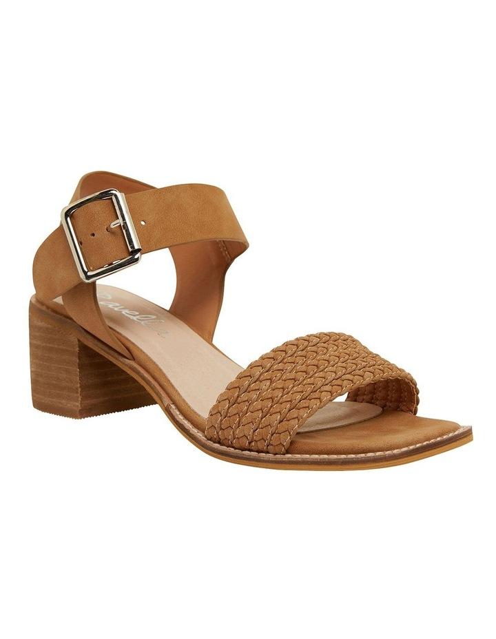 Hectic Tan Nubuck Sandals image 2