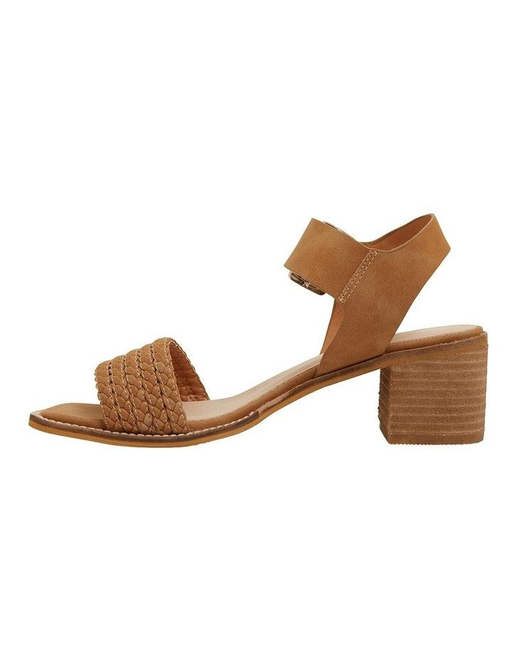 Hectic Tan Nubuck Sandals image 3