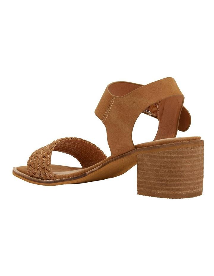 Hectic Tan Nubuck Sandals image 6
