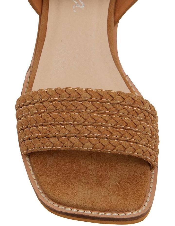 Hectic Tan Nubuck Sandals image 7