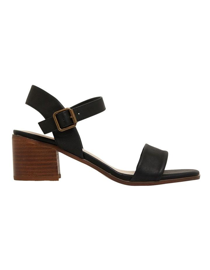 Evolve Black Smooth Sandals image 1