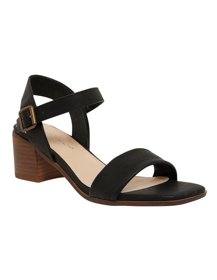 Evolve Black Smooth Sandals image 2