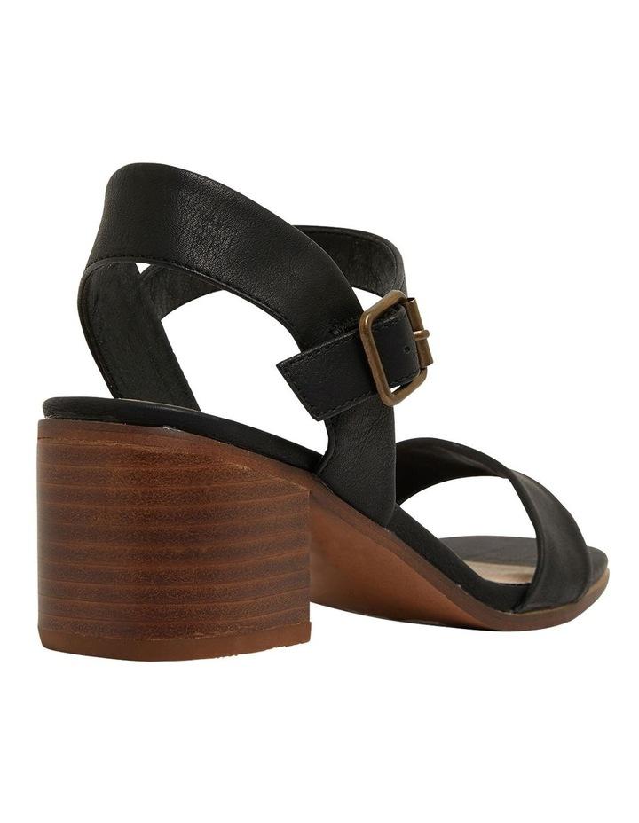Evolve Black Smooth Sandals image 4