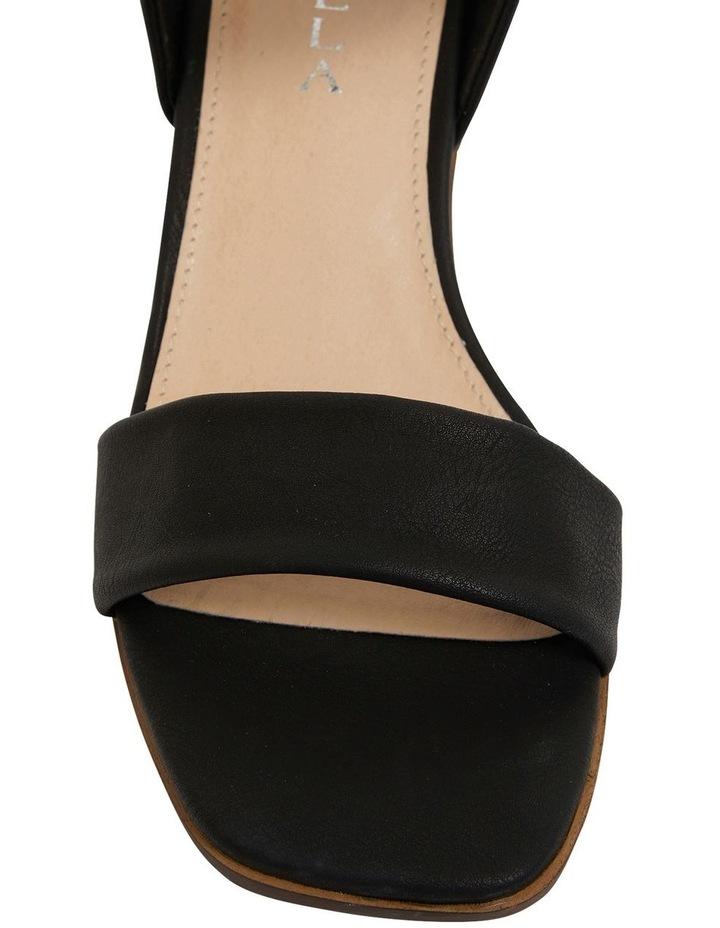 Evolve Black Smooth Sandals image 6