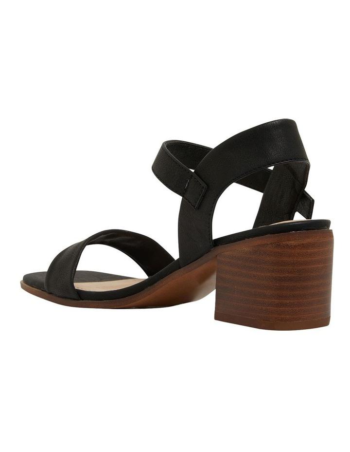 Evolve Black Smooth Sandals image 7