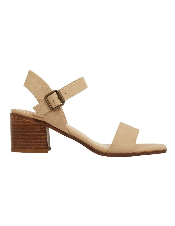 Evolve Nude Smooth Sandals image 1