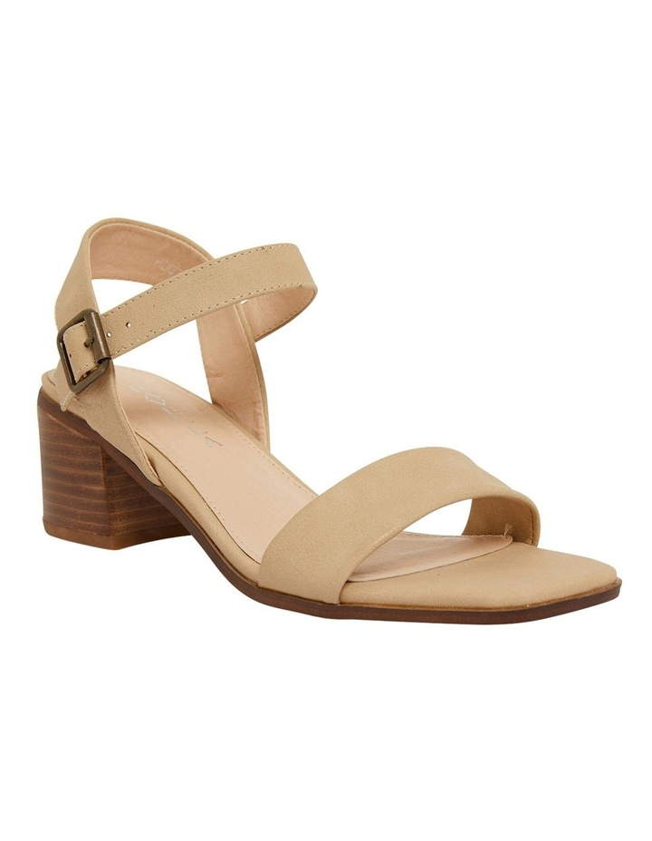 Evolve Nude Smooth Sandals image 2