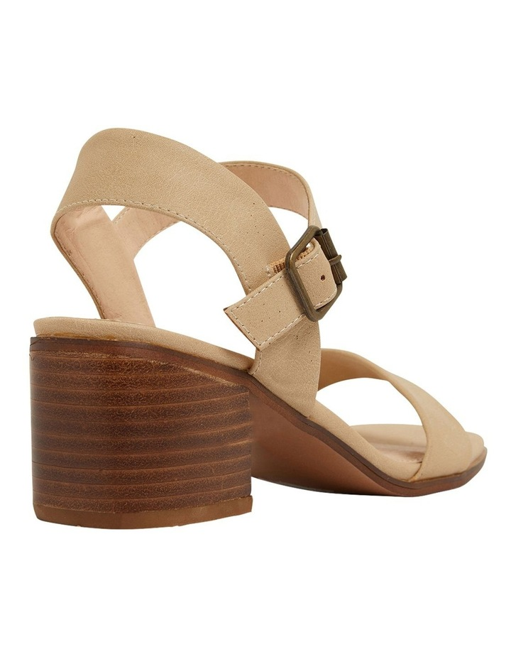 Evolve Nude Smooth Sandals image 4