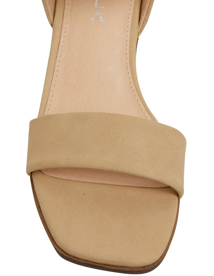 Evolve Nude Smooth Sandals image 6