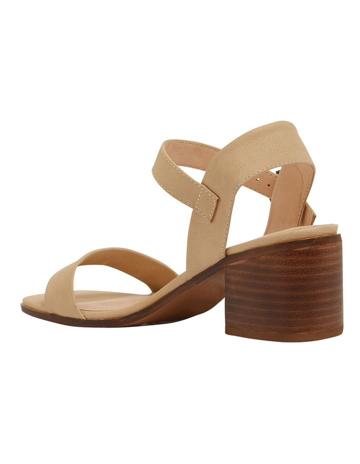 Evolve Nude Smooth Sandals image 7