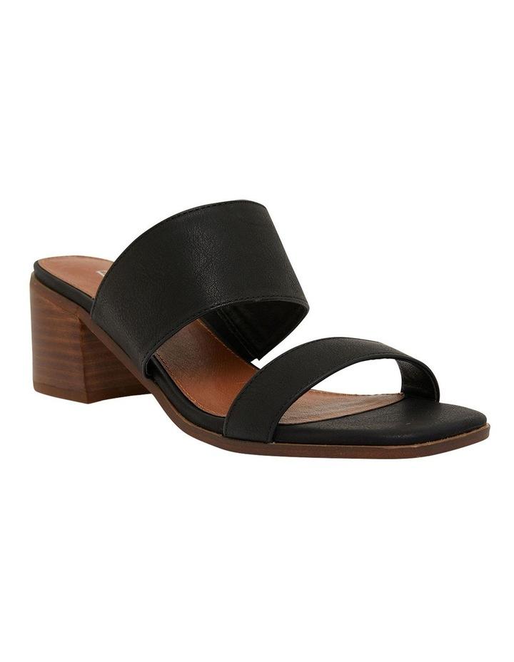 Edge Black Smooth Sandals image 2