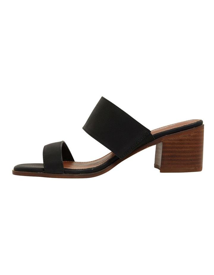 Edge Black Smooth Sandals image 3
