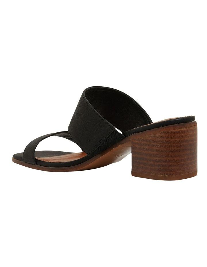 Edge Black Smooth Sandals image 7