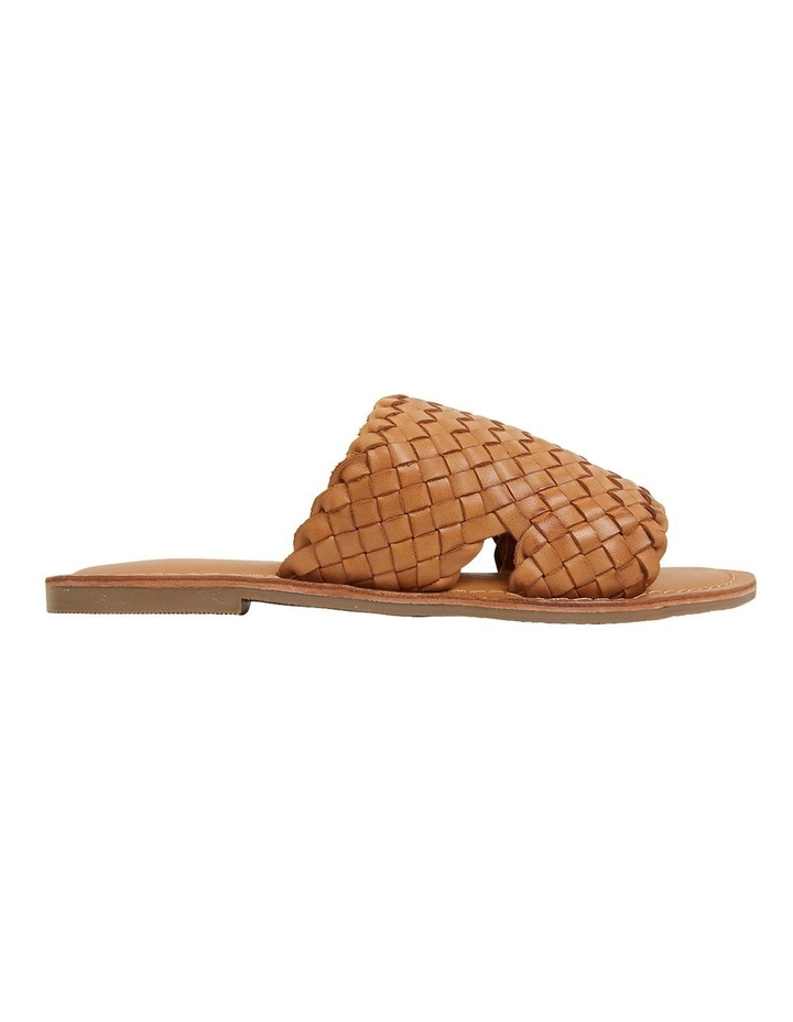 Elliot Tan Weave Sandals image 1