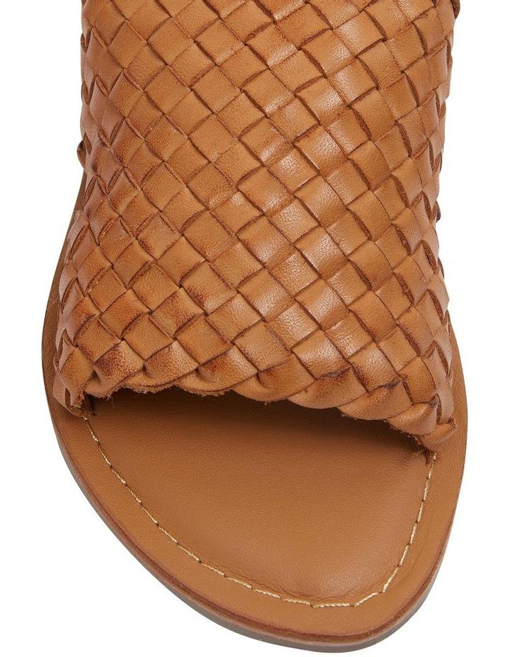 Elliot Tan Weave Sandals image 5