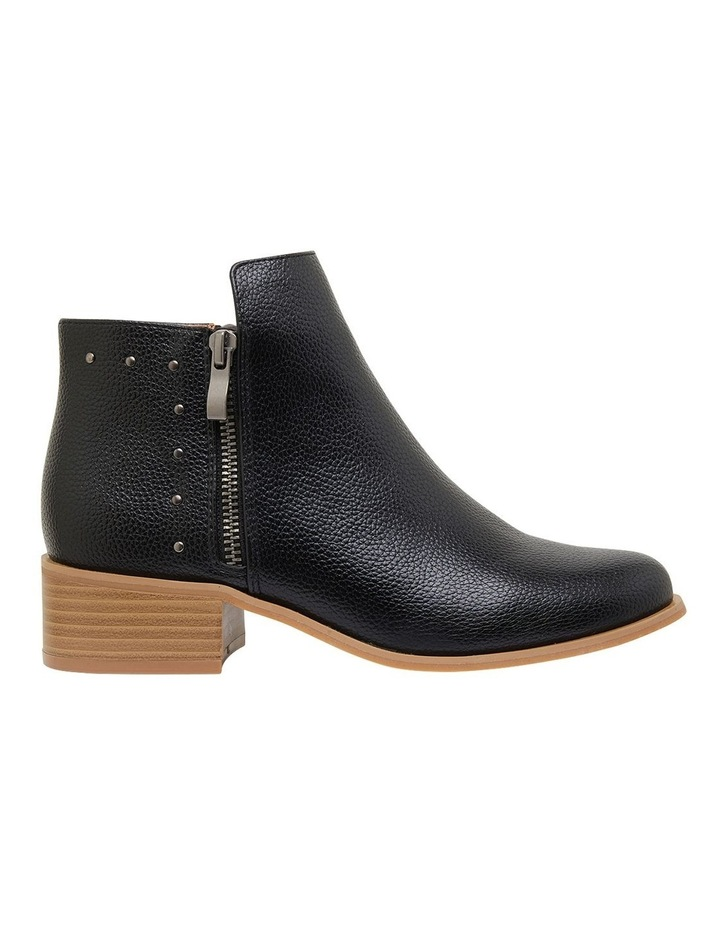 Marble Black Smooth Boots image 1