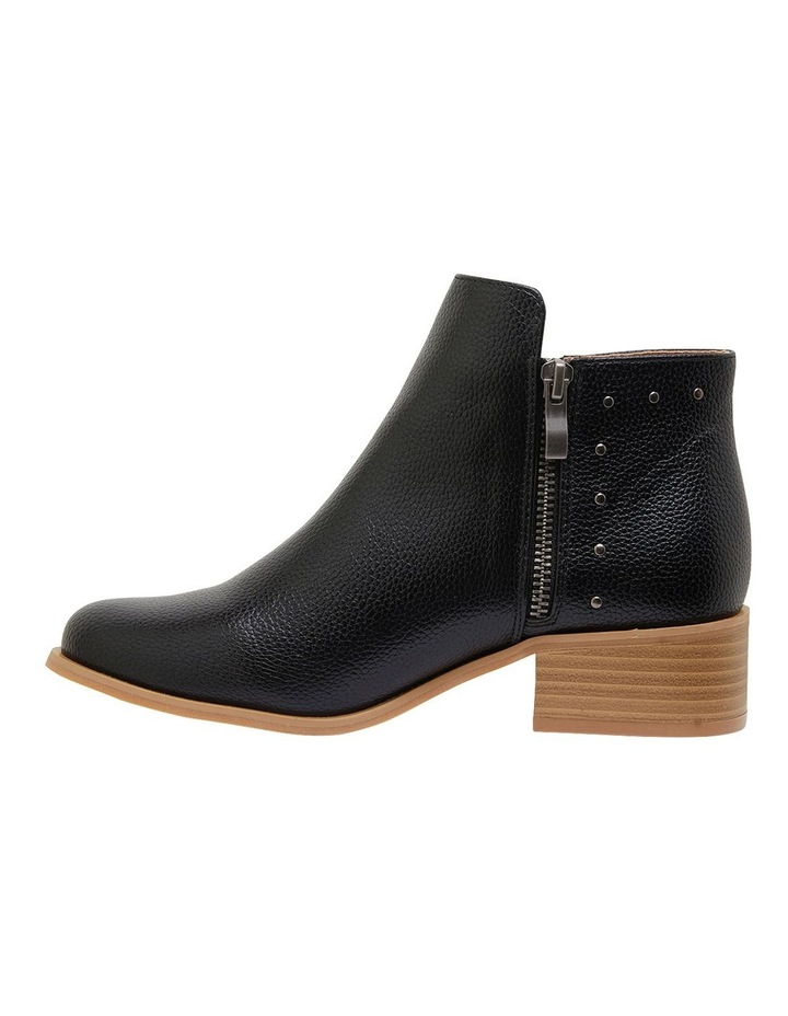 Marble Black Smooth Boots image 3