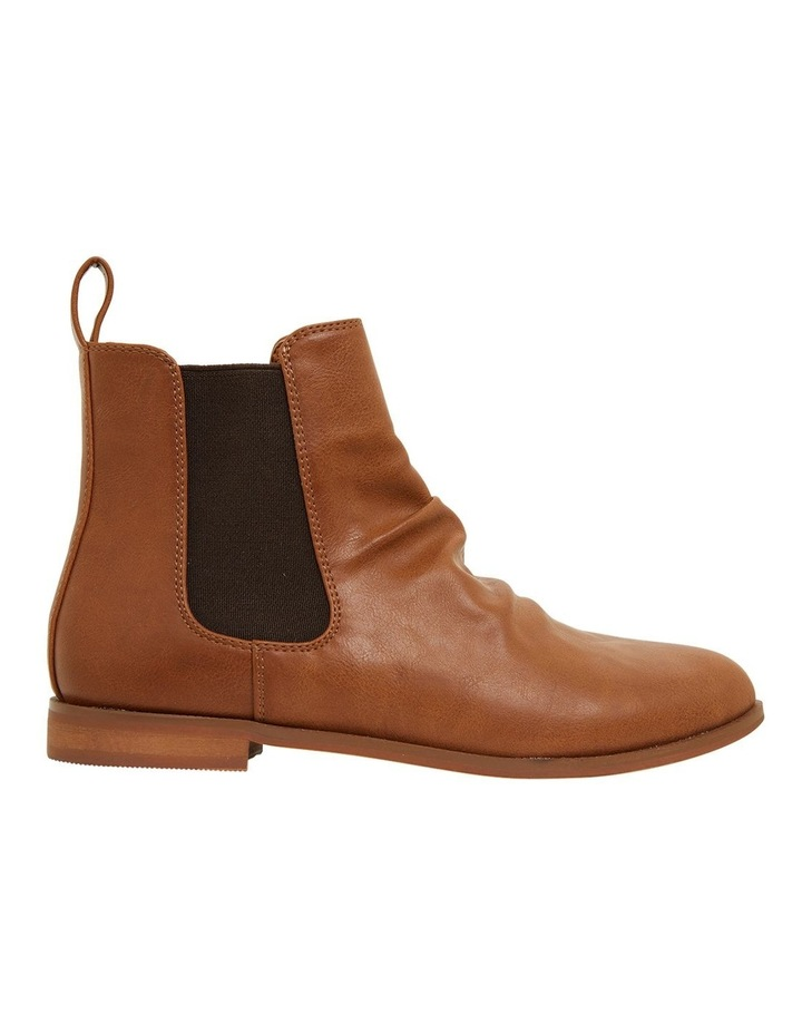 Eckna Tan Smooth Boots image 1