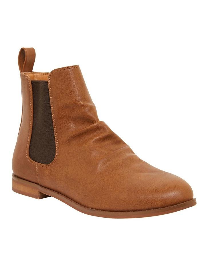 Eckna Tan Smooth Boots image 2