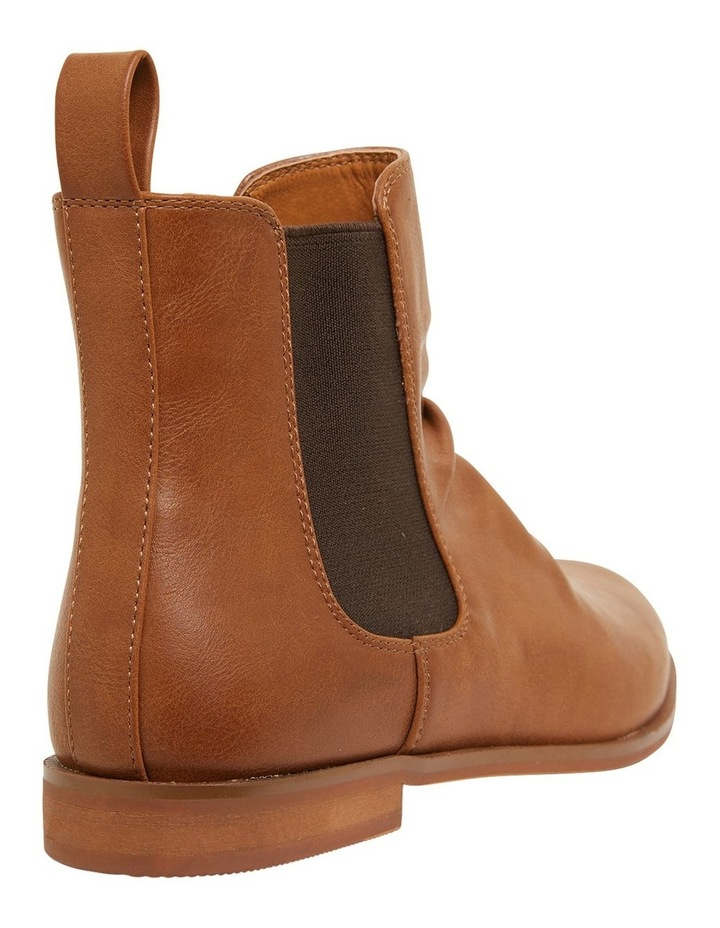Eckna Tan Smooth Boots image 4