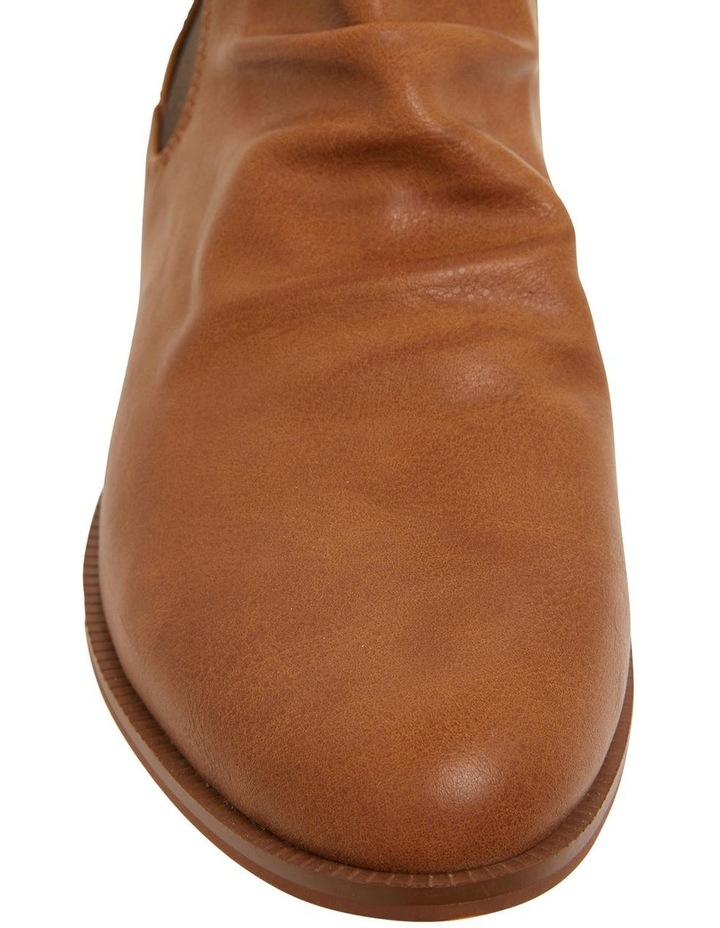 Eckna Tan Smooth Boots image 7