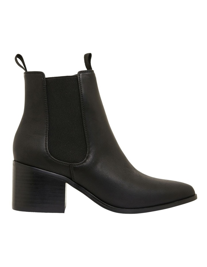 Faller Black Smooth Boots image 1