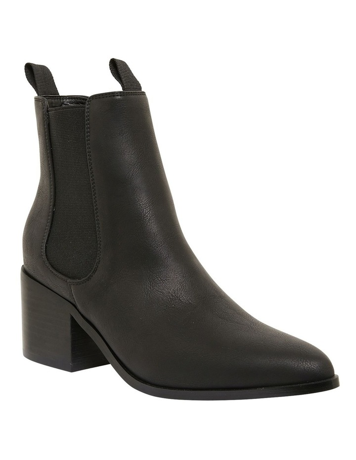 Faller Black Smooth Boots image 2