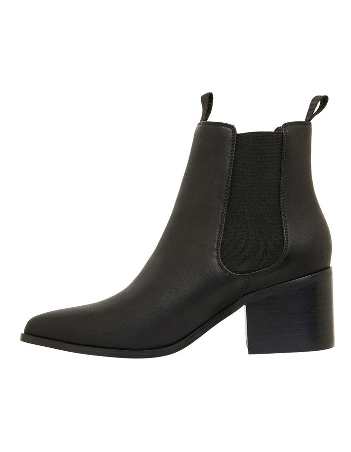 Faller Black Smooth Boots image 3
