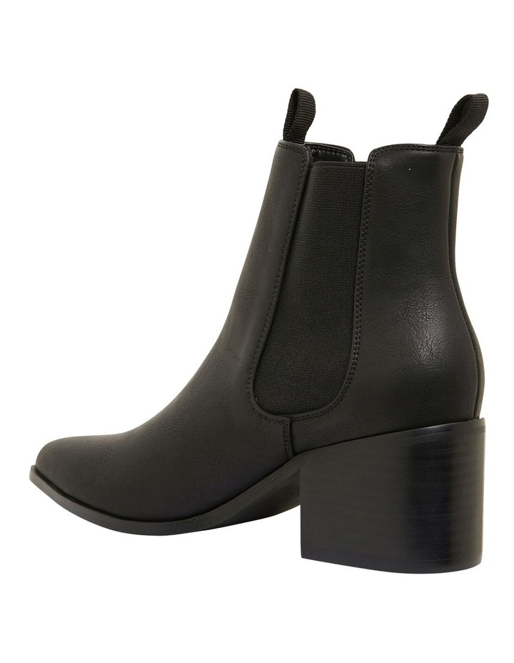 Faller Black Smooth Boots image 5