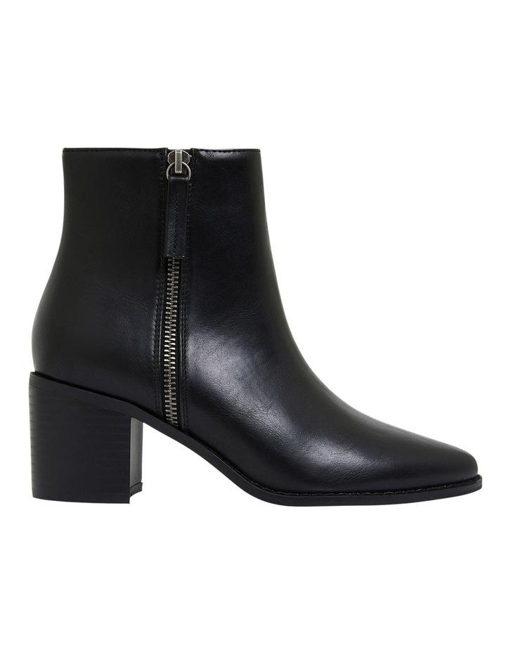 Savanna Black Smooth Boots image 1