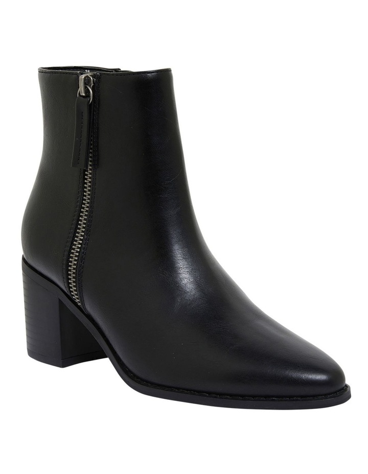 Savanna Black Smooth Boots image 2